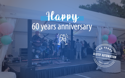 Alstef Automation celebrates 60 years!